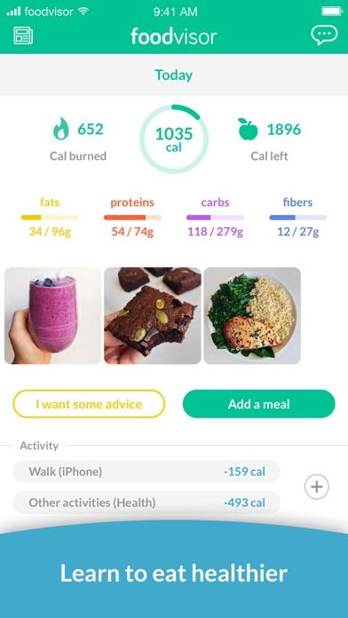 Foodvisor - Calorie Counterのおすすめ画像1