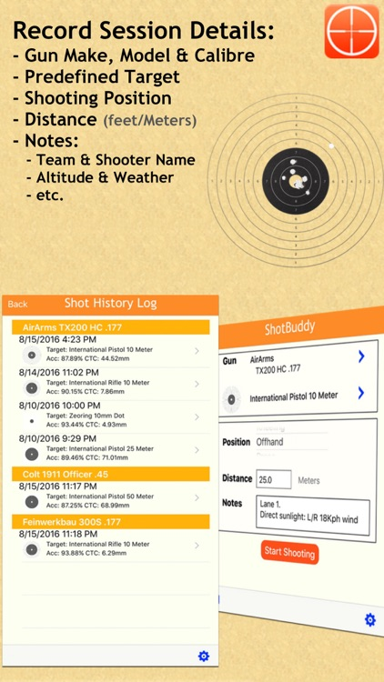 ShotBuddy screenshot-2