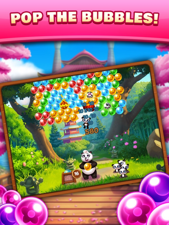 Panda Pop! Bubble Shooter Game-ipad-0