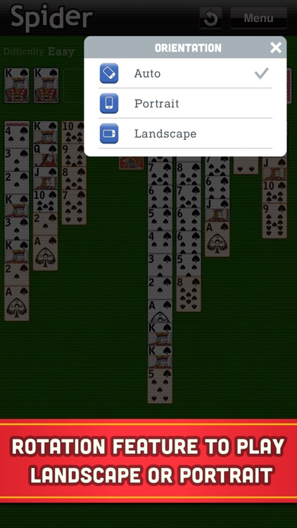 Spider Solitaire Classic Cards screenshot-6