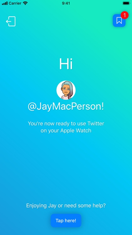 Jay – Tweet from your Watch