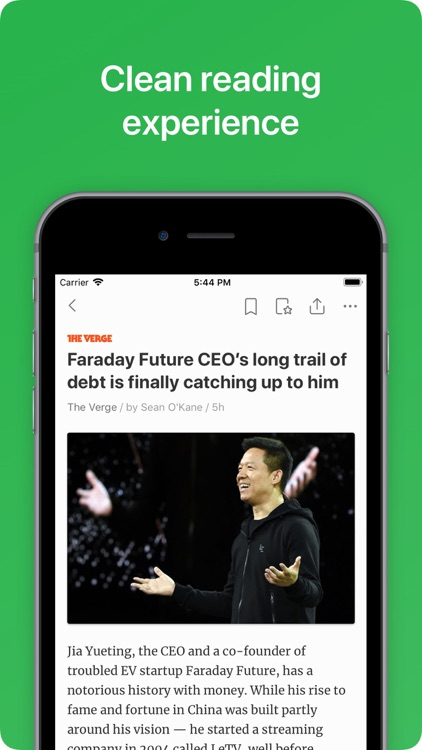 Feedly - Smart News Reader screenshot-3