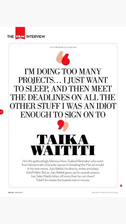 Total Film Magazine screenshot-8