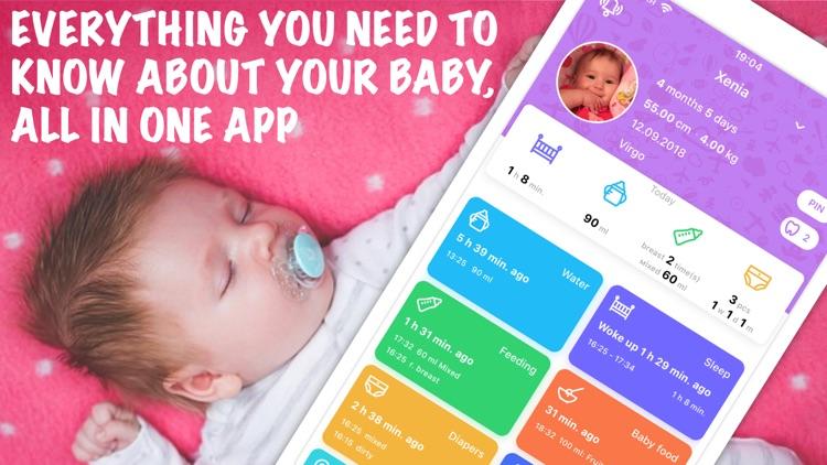 Newborn Baby Tracker & Log