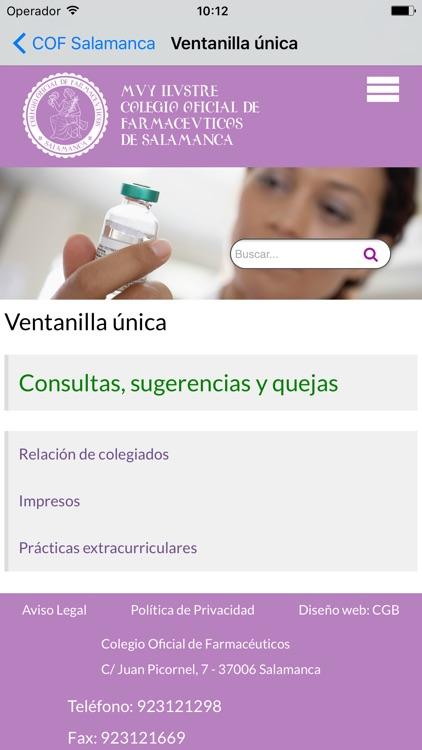 Salamanca Farmacias screenshot-6