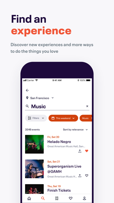 Eventbrite - Local Events, Fun Things To Do Near Me & Event Planner screenshot