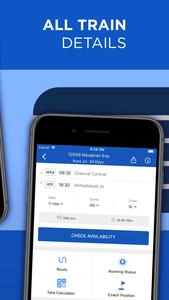 ixigo: IRCTC Rail, Bus Booking App for iPhone - Free Download ixigo