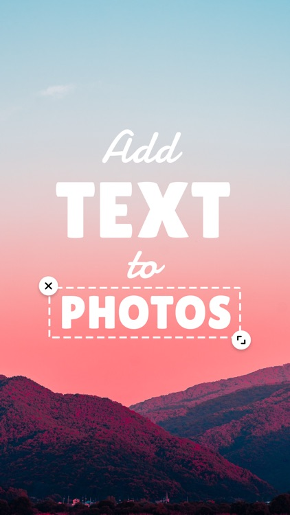 Add Text: Write On Photos screenshot-0