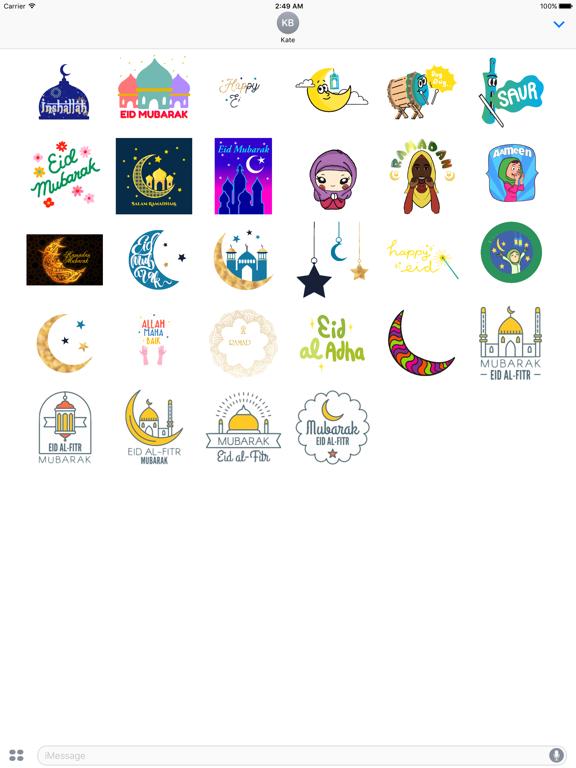 Animated Eid al-Fitr Sticker screenshot 5