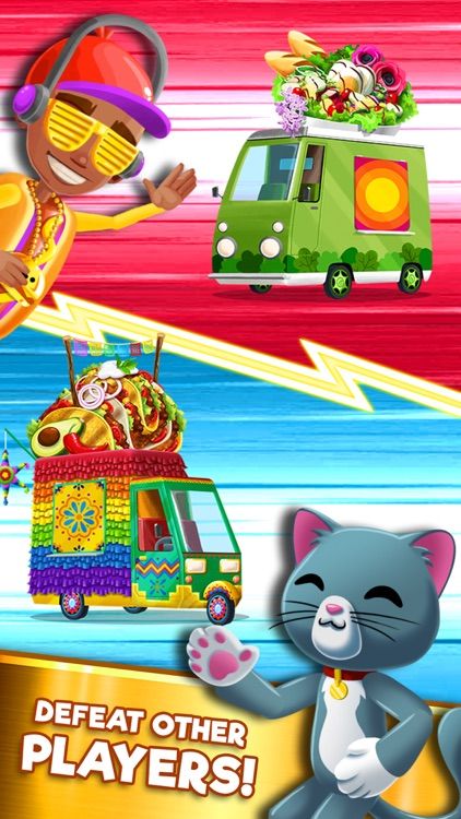 Foodgod's Food Truck Frenzy™ screenshot-3