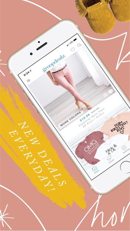 Groopdealz - Shop Daily Deals screenshot-3