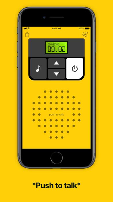 Walkie-talkie - COMMUNICATION Screenshot