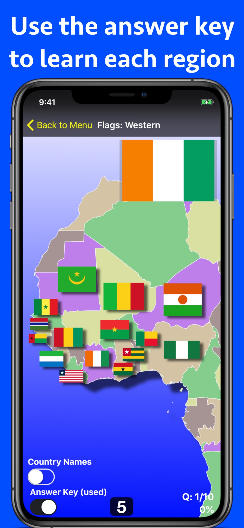Africa Geography Quiz hack tool
