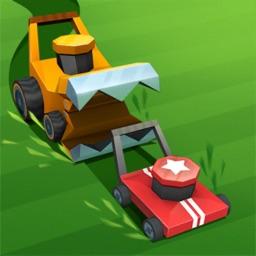 Lawnmower.io - grass cutting