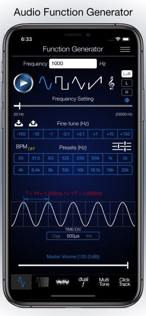 Audio Function Generator on the App Store