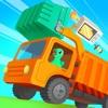恐龙垃圾车-儿童早教益智游戏