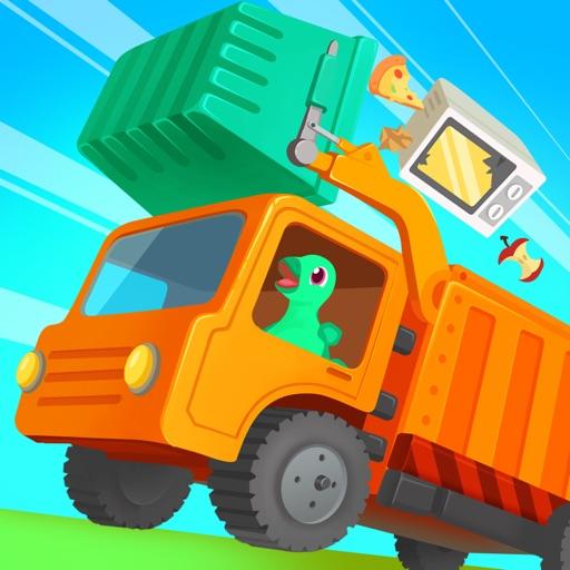 Dinosaur Garbage Truck