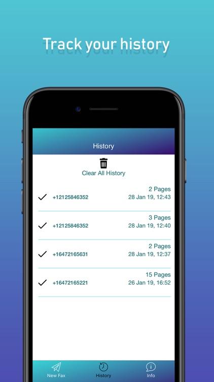 Fax & Fax Send Fax from iPhone screenshot-4