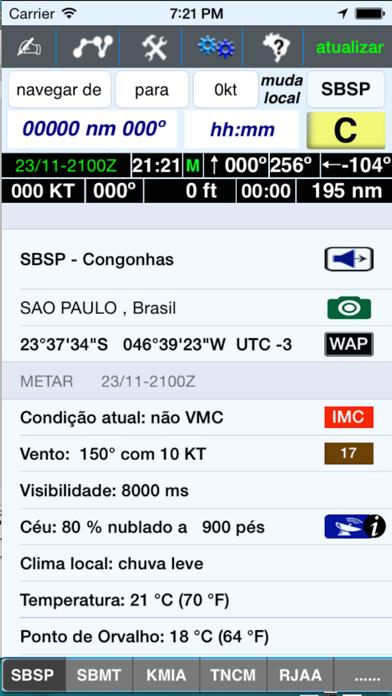 AeroInfo screenshot one