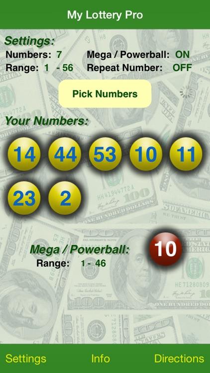 My Lottery Pro screenshot-0
