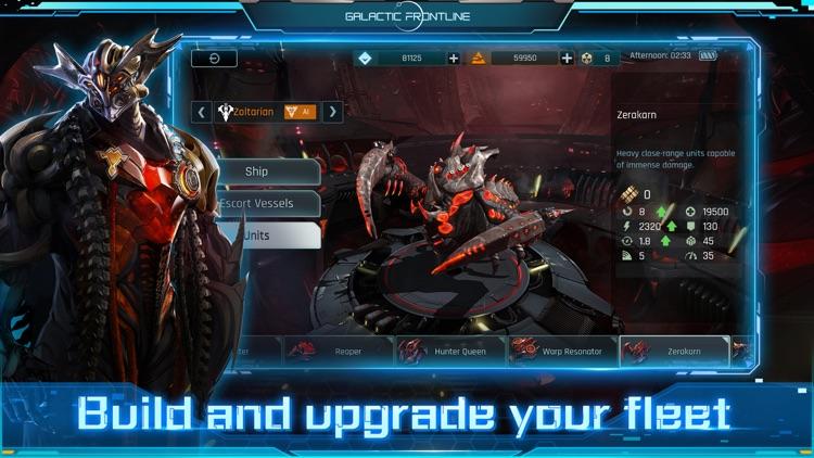 Galactic Frontline:リアルタイム SFスト