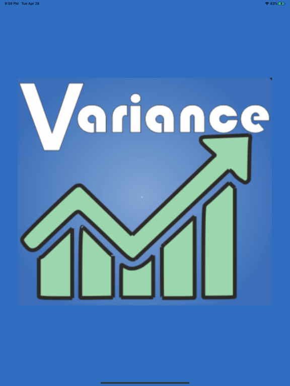 Price/Norm Variance Calculator screenshot 4