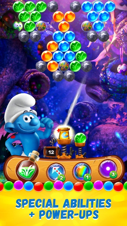 Smurfs Bubble Shooter Story screenshot-6