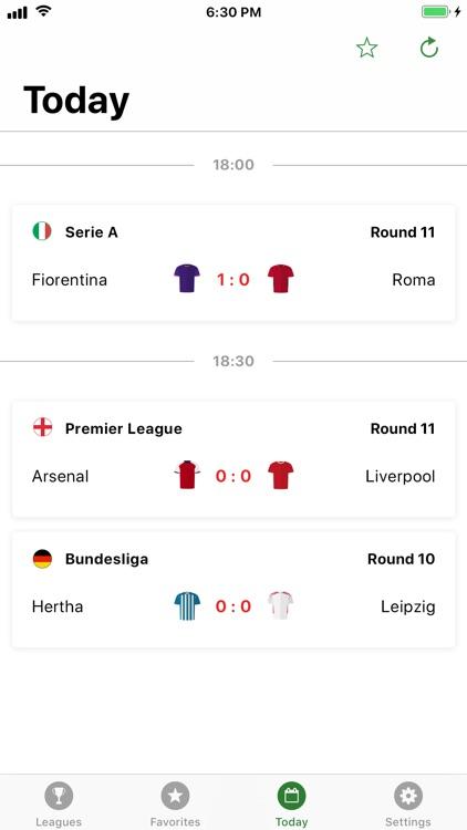 GoalAlert Football Live Scores screenshot-3