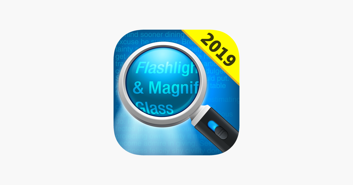 Magnifying Glass + Flashlight on the App Store