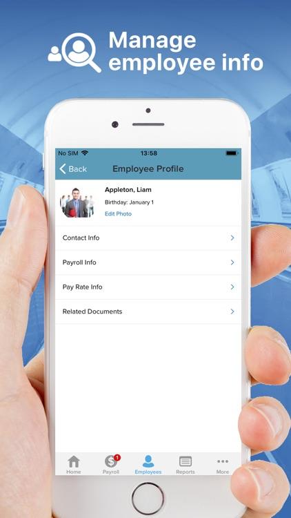 RUN Powered by ADP Payroll screenshot-3