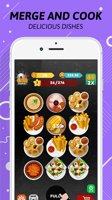 Download Merge Food Restaurant Story per Pc