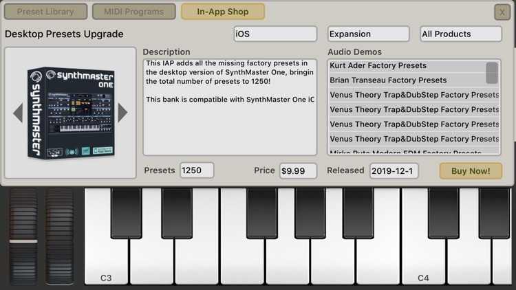 SynthMaster One for iPhone screenshot-4