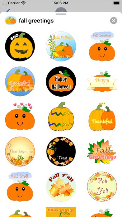 fall greetings screenshot 1
