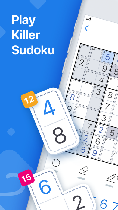 Killer Sudoku by Sudoku.com screenshot 1