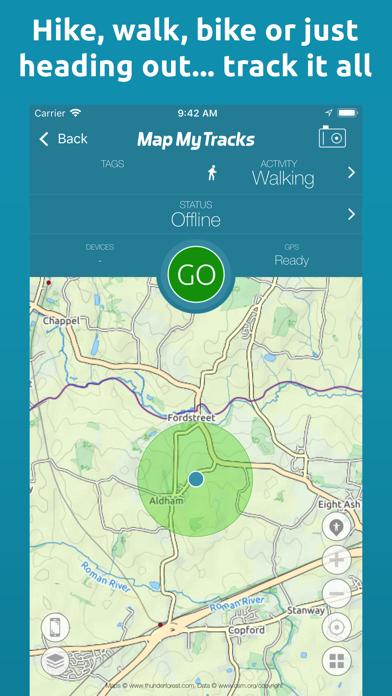 Map My Tracks: walking tracker