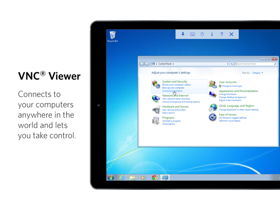 VNC Viewer screenshot