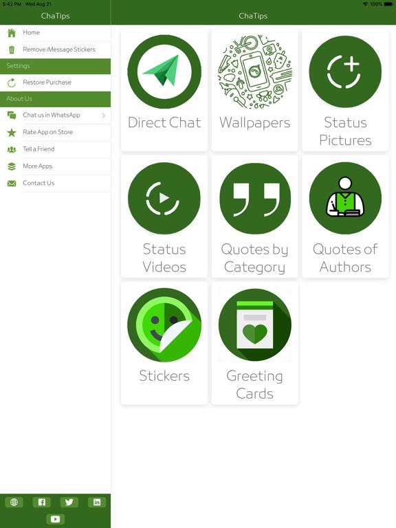 ChaTips - Status & Direct Chat screenshot 11