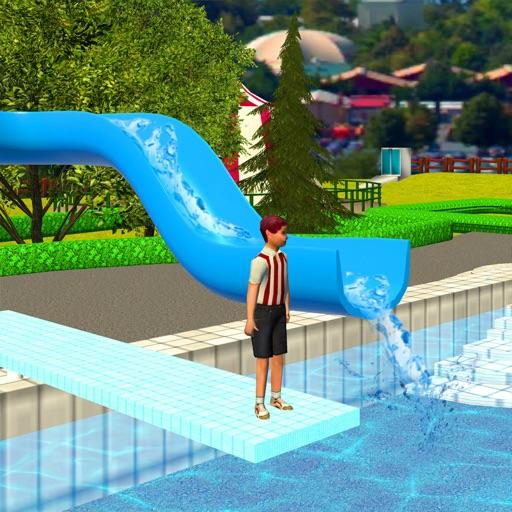 Water Park Slide : Uphill Rush iOS App