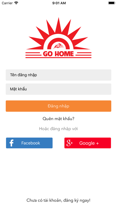 Screenshot for Go Home in United States App Store