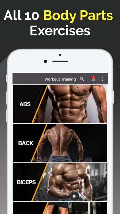 Gym Workout: Trainer & Tracker