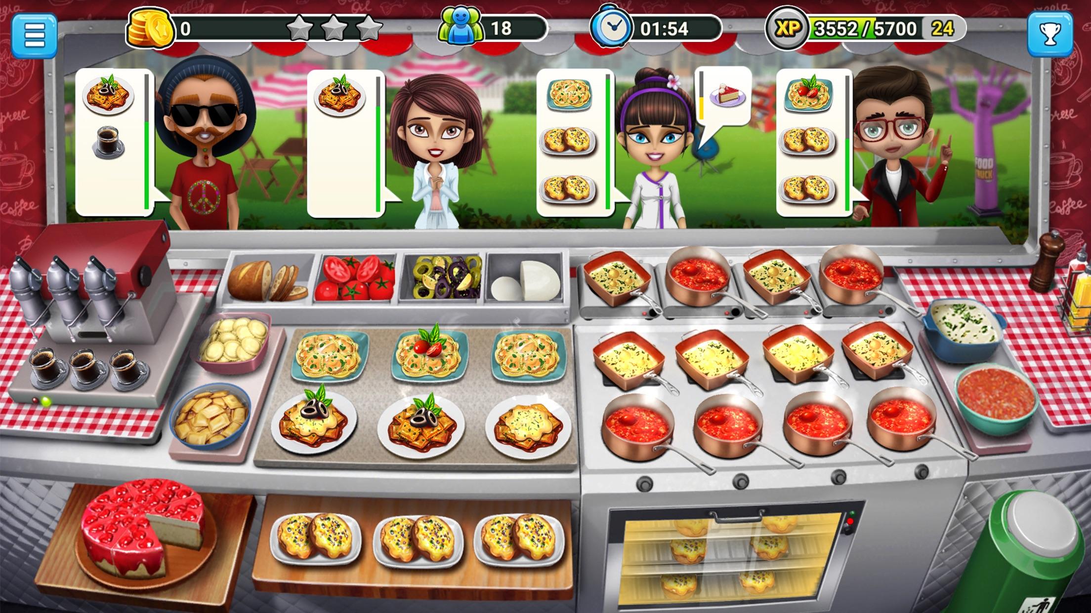 Food Truck Chef: Pizza & Food Screenshot