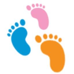 Beşikte anne ve bebek