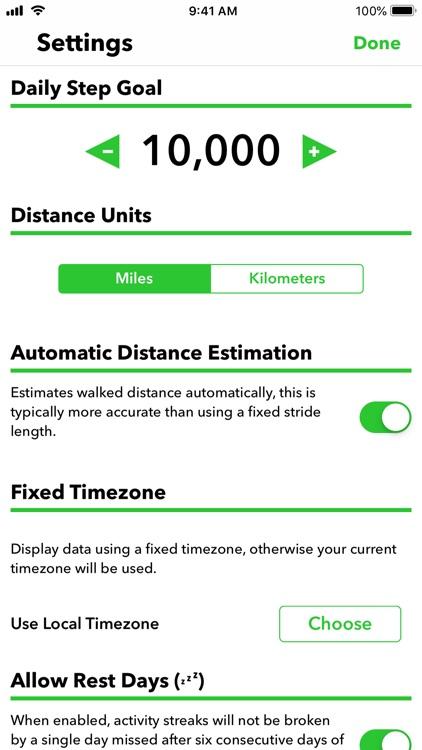 Pedometer++ screenshot-5