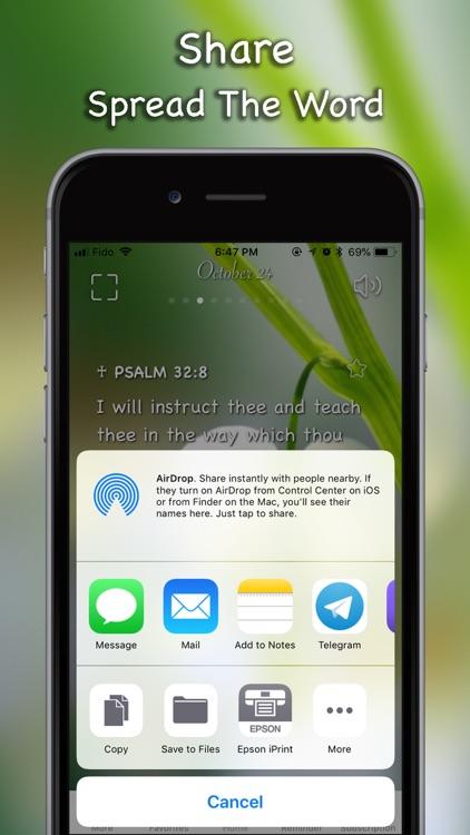 Daily Bible Inspirations Verse screenshot-5