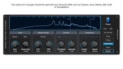 De-Esser AUv3 Audio Plugin screenshot 2