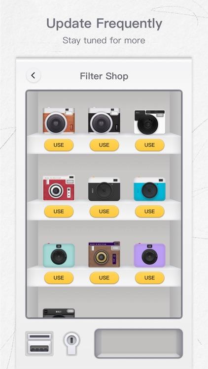 MolyCam - Retro Effects Camera screenshot-4