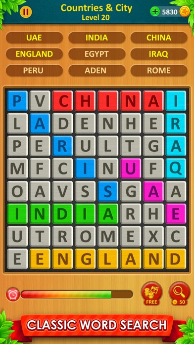 Word Game 2021 : Word Connect screenshot two