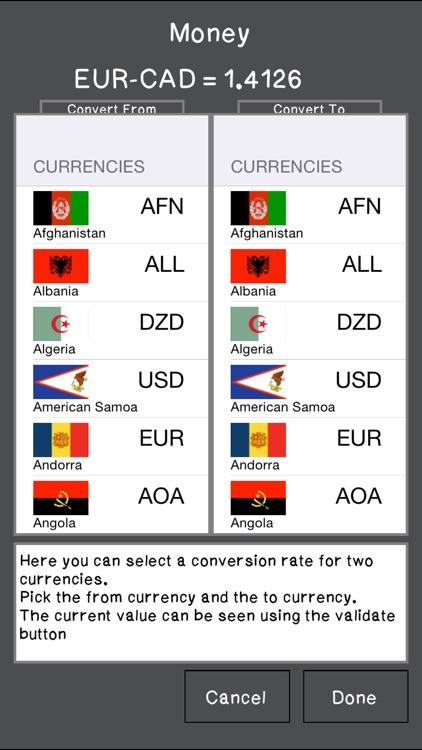 Calculator SpreadSheet Lite screenshot-4