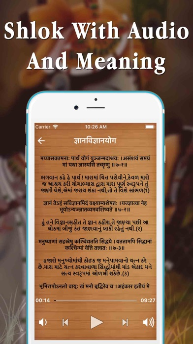 Full Bhagavad Gita MP3 screenshot three