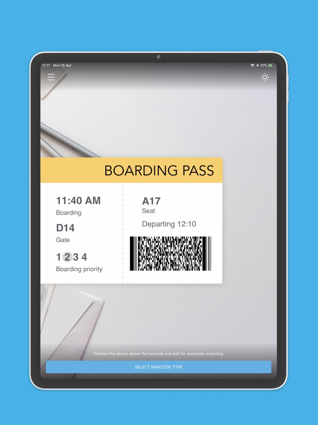 PDF417 Barcode Scanner on the App Store